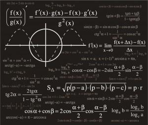 科学的な数式の背景+Scientific+formulas+backgrounds+イラスト素材4